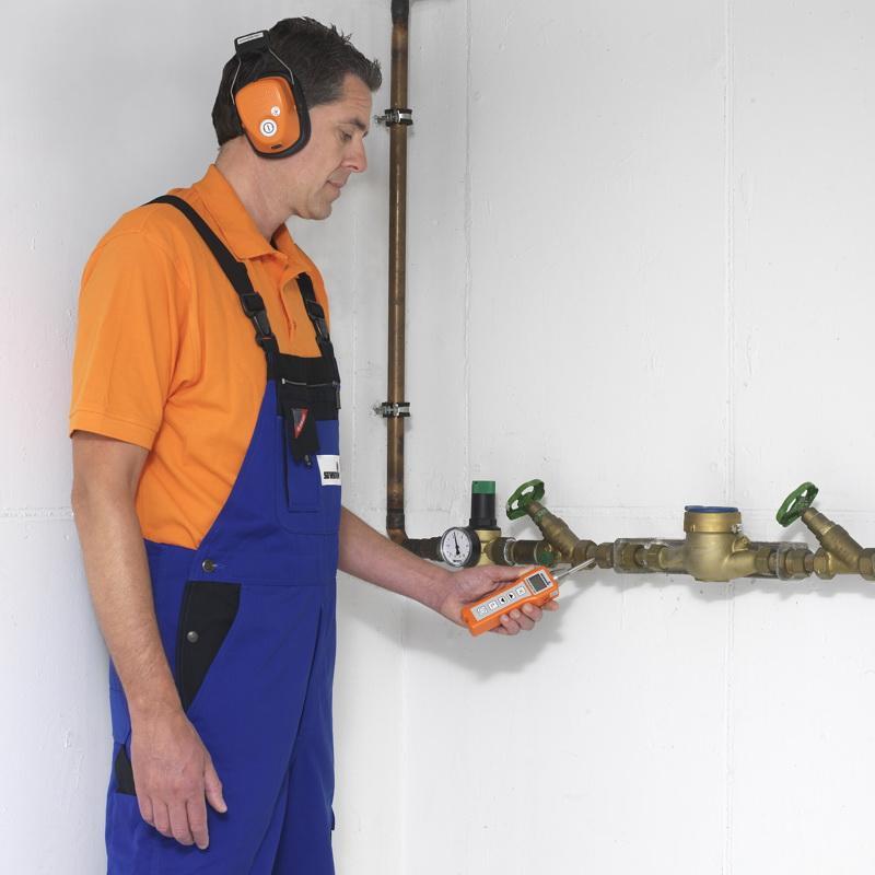 Stethophon 04 - Détection acoustique de fuites d'eau