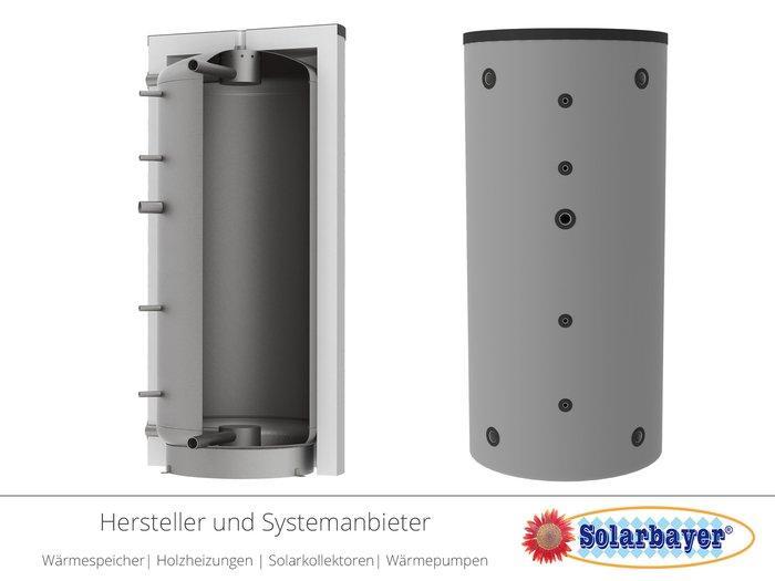 Solarbayer Schichtleit-Pufferspeicher SPS - mit patentieren SLS-System