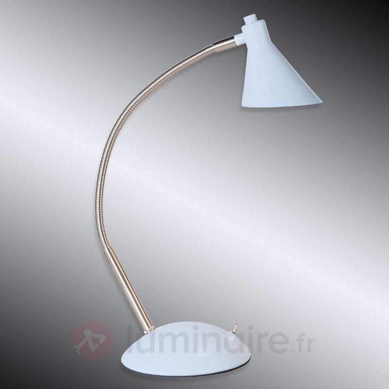 Lampe de bureau LED Milou, bleu clair - Lampes de bureau LED