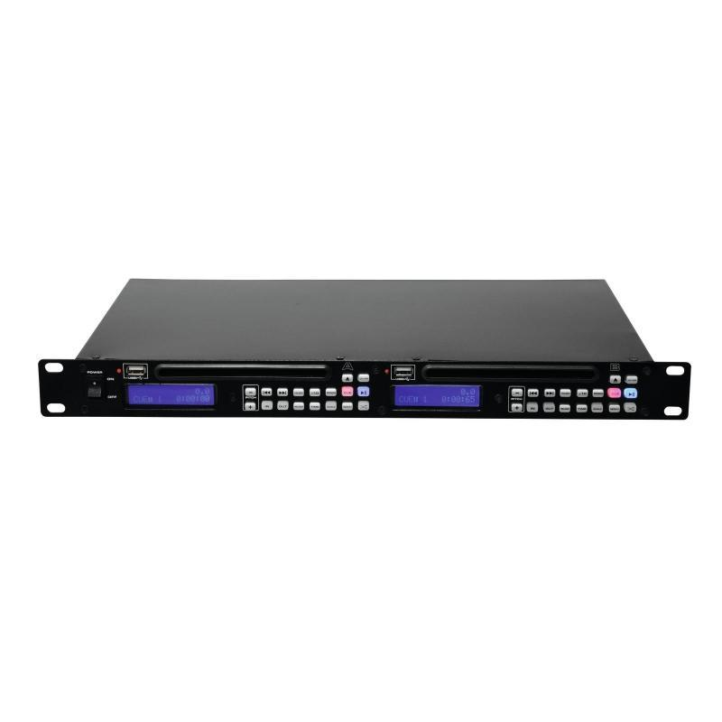 DJ SD/USB-Player - Omnitronic DMP-202 Dual-USB-CD-Player