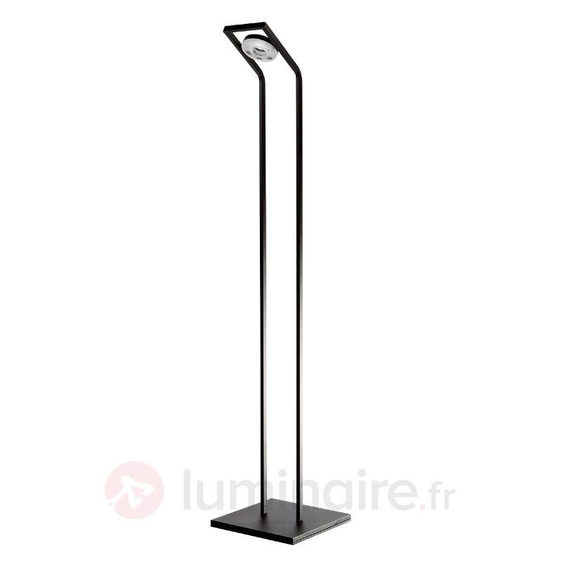 Lampadaire de lecture LED TUNE-LL noir - Lampadaires LED