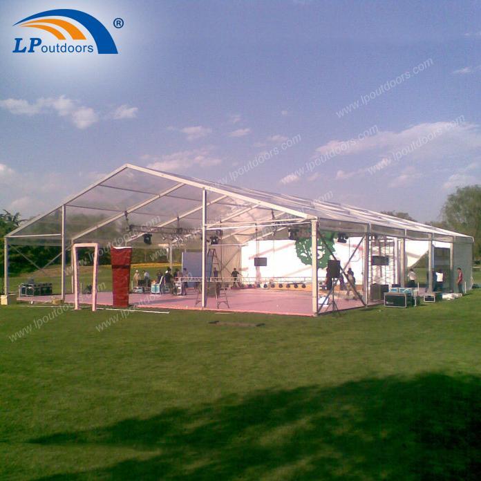 Роскошный красивый прозрачный шатер для промоушена - 15-метровая палатка для вечеринок от LP OUTDOORS