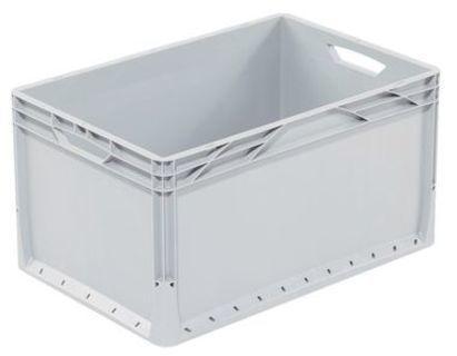 Industriebehälter klein geschlossen 600x400 mm light - null