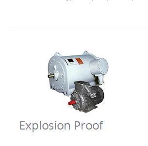 Electric Motors - Explosion Proof, General Purpose, Severe Duty Motors