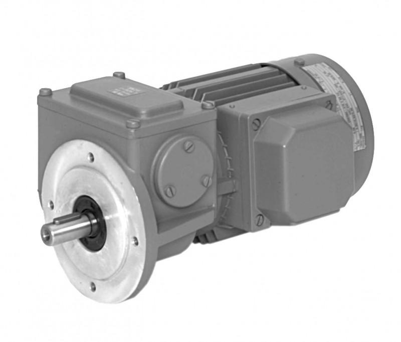 SN2F - Two-stage gear drive with solid shaft