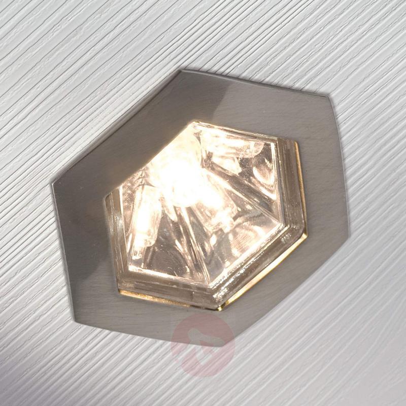 GU5.3 MR16 35W HEXAGONAL Reflector silver - light-bulbs