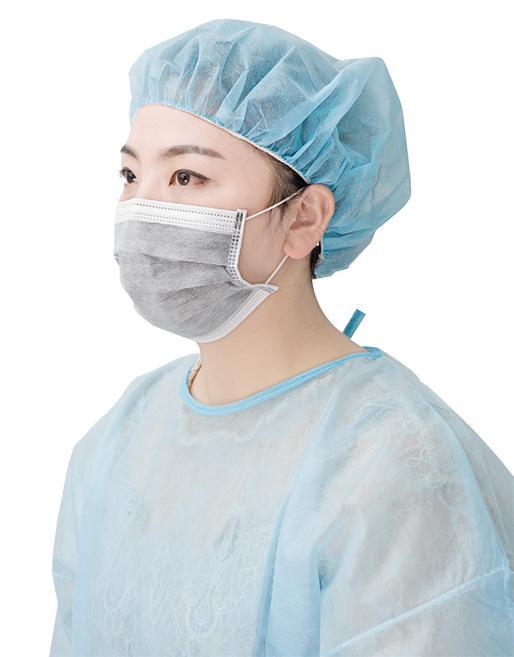 Active carbon face mask - Size: 17.5*9.5cm/14.5*9.5cm/18*9cm Color:Blue/white/pink/green