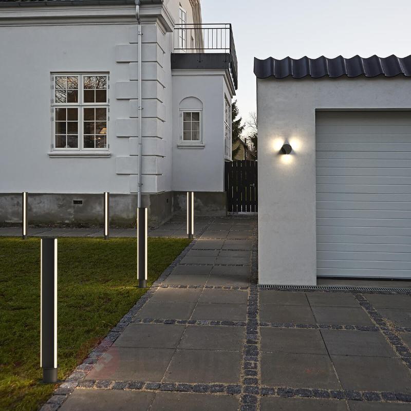 Titus - applique d'extérieur LED moderne en noir - Appliques d'extérieur LED