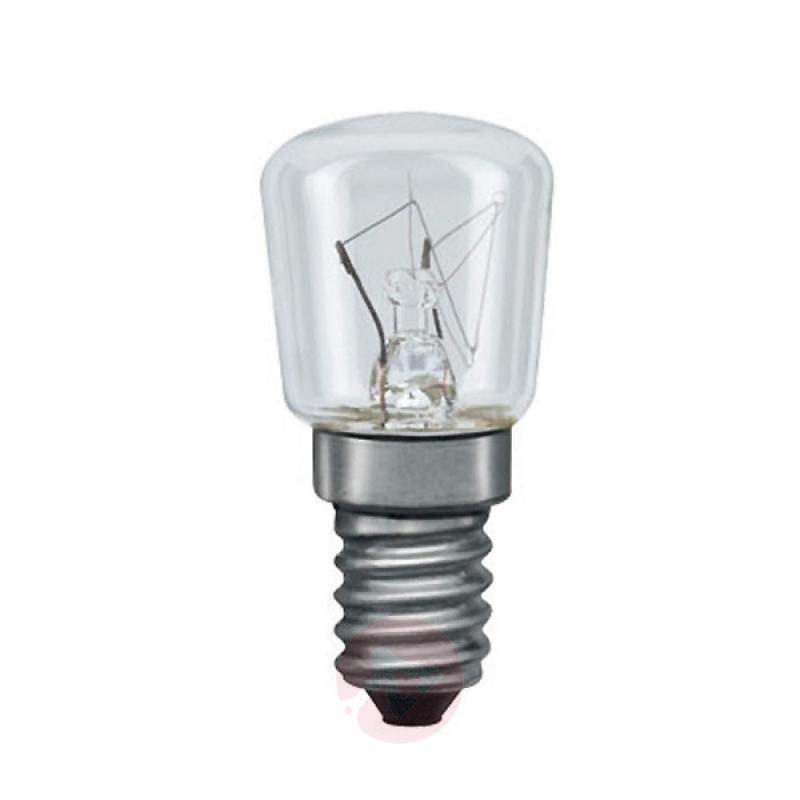 E14 7W pear bulb clear for night light - light-bulbs