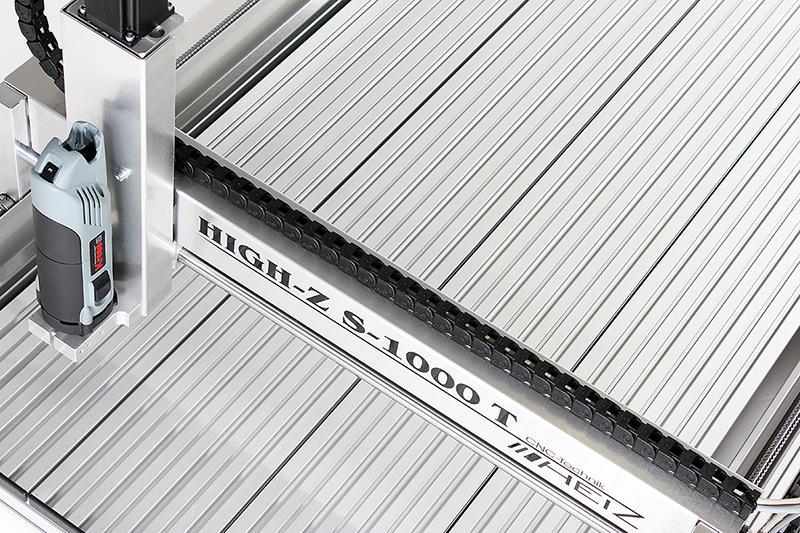 CNC Fräse 1000 x 600 mm Verfahrweg - CNC Fräse mit Kugelumlaufspindeln für Modellbau & Hobby