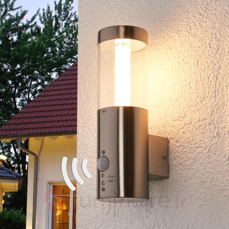Applique d'extérieur LED Ellie capteur mouvement - Appliques d'extérieur avec détecteur