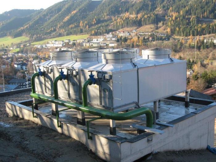 PME-E Torre evaporativa a circuito aperto - per impianti medi e grandi