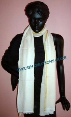Cotton silk  Printed scarves