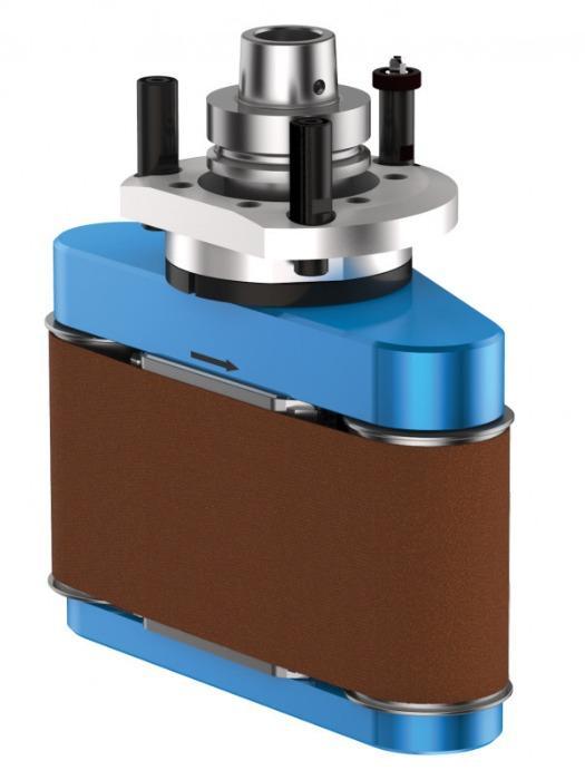 Belt sanding unit COLLEVO+ - CNC unit for machining of wood, composites and aluminium