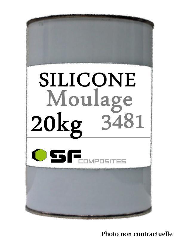 SILICONE 3481 BASE EN 20 KG - Produits pour le moulage Silicones