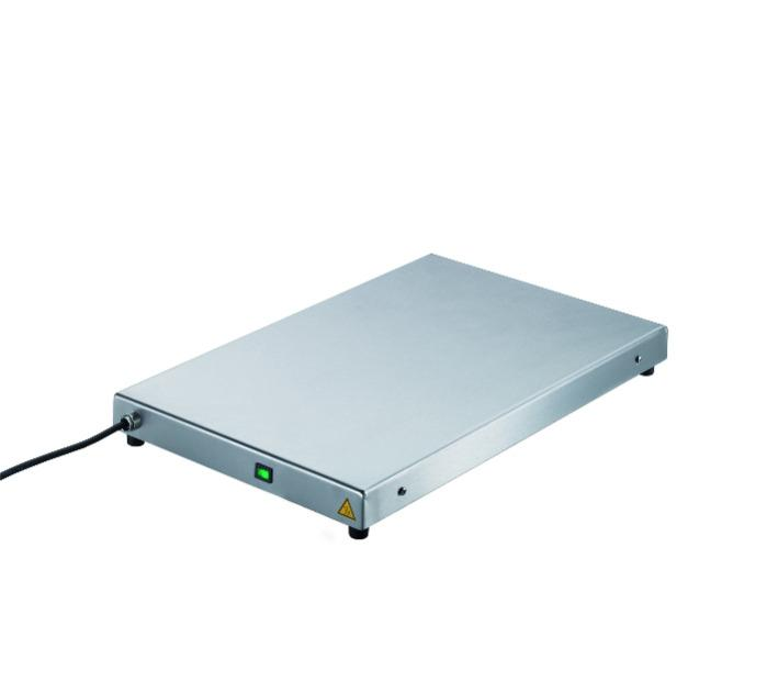 Hot plates for backing sheets -