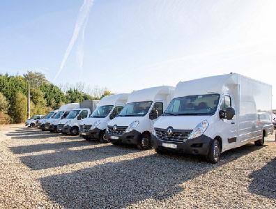 Transport de camping-car et utilitaires -