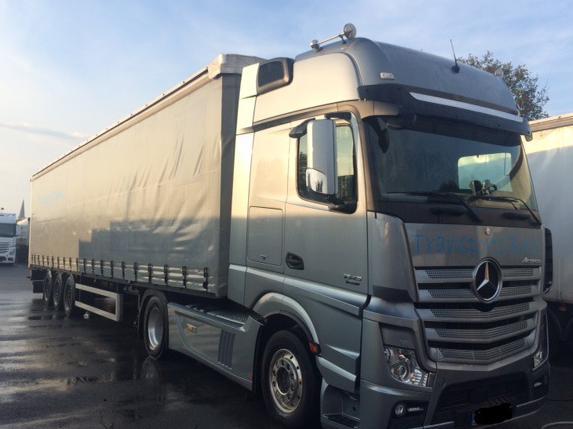 Transports routiers conteneur
