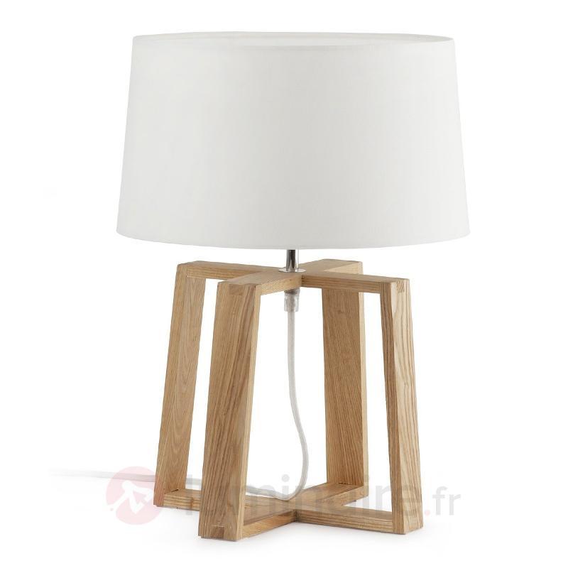 Lampe à poser Bliss exceptionnelle - Lampes à poser en bois