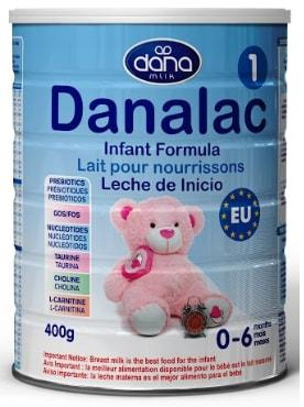 FORMULA INFANTIL DANALAC ETAPA 1 - Fórmula infantil para edades 0-6 meses (leche para bebés)
