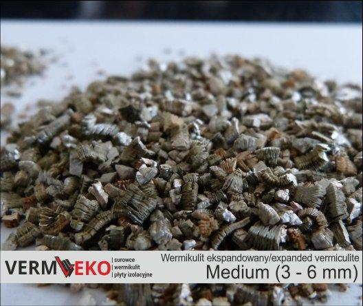 Expanded vermiculite Medium fraction