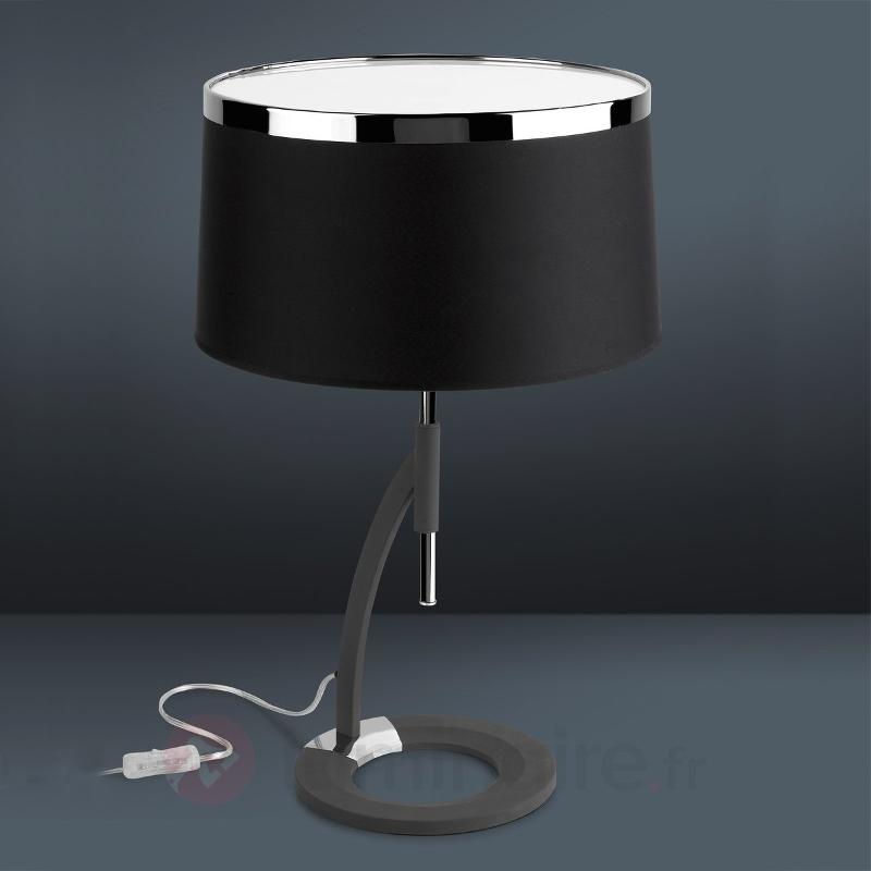 Moderne lampe à poser VIRGINA - Lampes à poser en tissu