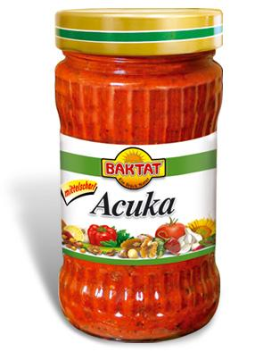 Acuka Paprika relish light hot - null