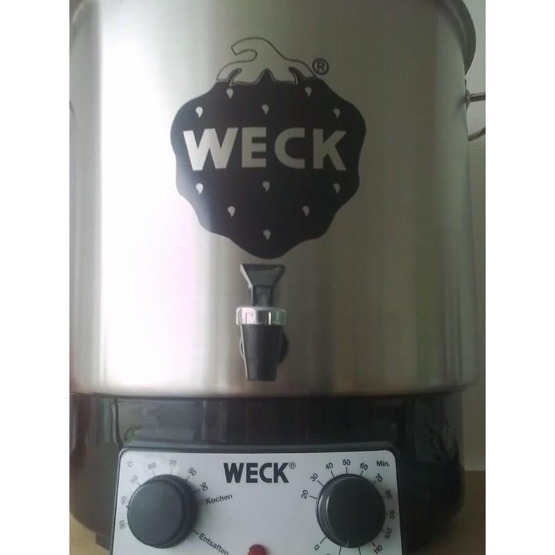 Stérilisateur et pasteurisateur ménager / domestique Weck inox WAT 25A - Stérilisateurs Ménagers et extracteurs de jus WECK