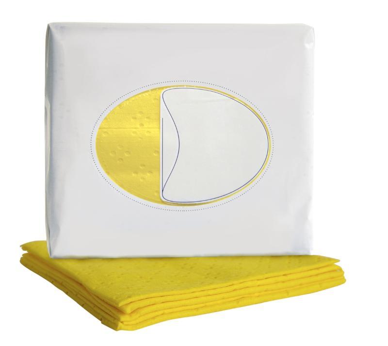 profix 4 colour cloths – Yellow - Item number: 066 885