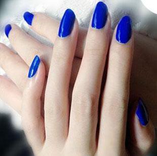 Cosmetics - Royal blue Nail Polish