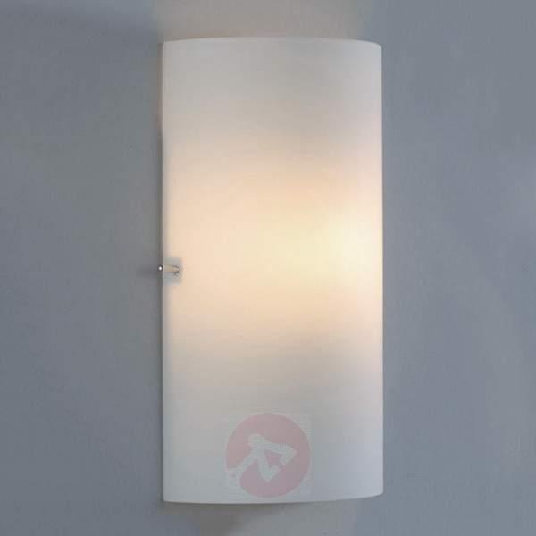 Semicircular glass wall light Sidra - Wall Lights