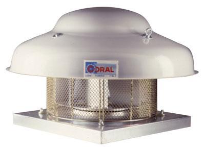 Tourelle industrielle d'extraction - Ventilation générale