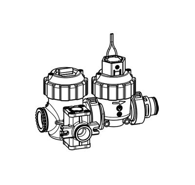 Système modulaire pour urinoirs avec filtre à tamis, DN 7 - 52.007.2xx