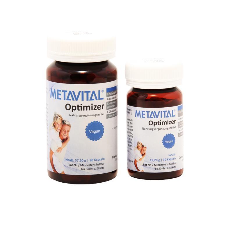 METAVITAL Optimizer - Nahrungsergänzungsmittel
