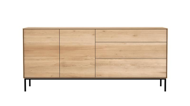 Ethnicraft - Buffet Whitebird 2 portes / 3 tiroirs - Meubles