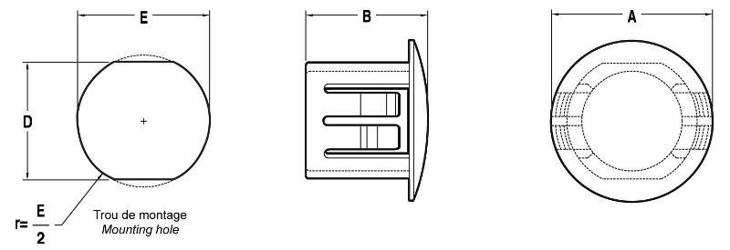"""NH440 - Obturateur """"Double D"""" - Obturateurs"""