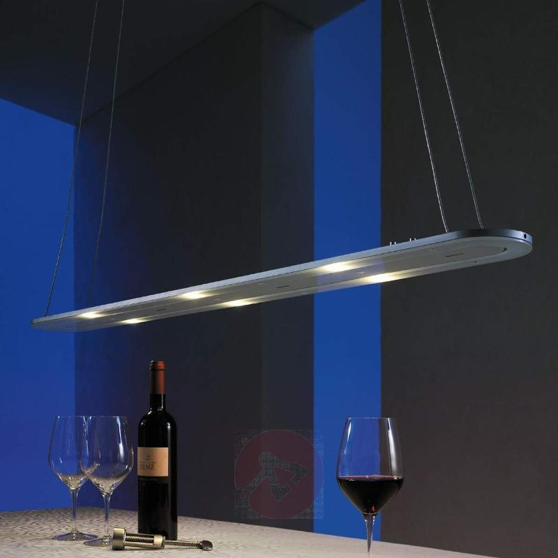 LED pendant lamp EOS with two light modules - Pendant Lighting