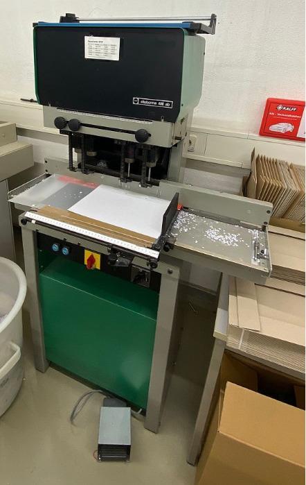 Nagel Citoborma 480 AB - Used Machine