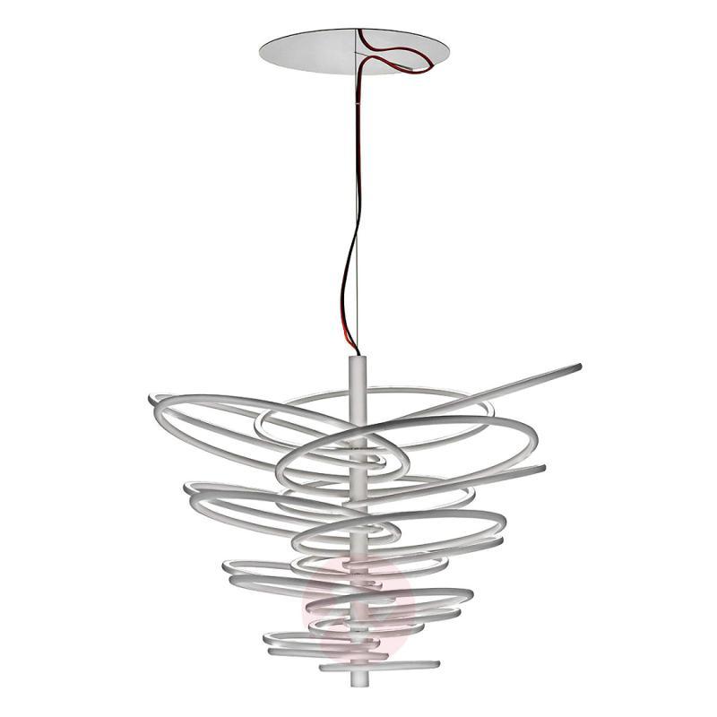 Attractive designer hanging light 2620 with LEDs - design-hotel-lighting