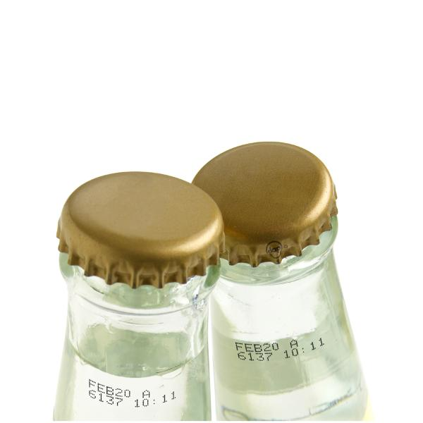 Bottiglie in vetro per acque minerali - Tutte le soluzioni per la codifica e marcatura su bottiglie in vetro per...