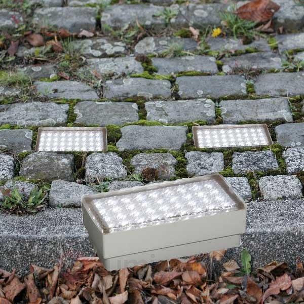 Pavé lumineux PIERRE - Luminaires LED encastrés au sol
