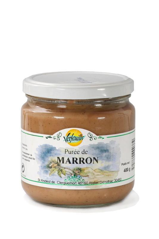 PUREE DE MARRONS - Epicerie salée