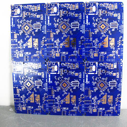 Blue oil circuit board