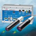 Controller with integrated light source for measuring... - confocalDT IFC2461
