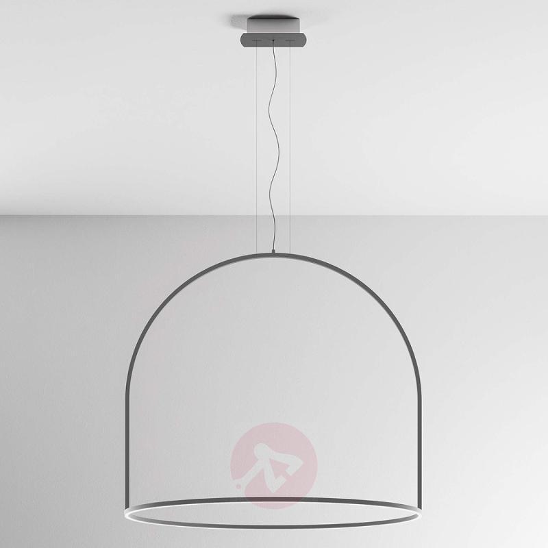 U-Light round-shaped LED hanging light - design-hotel-lighting