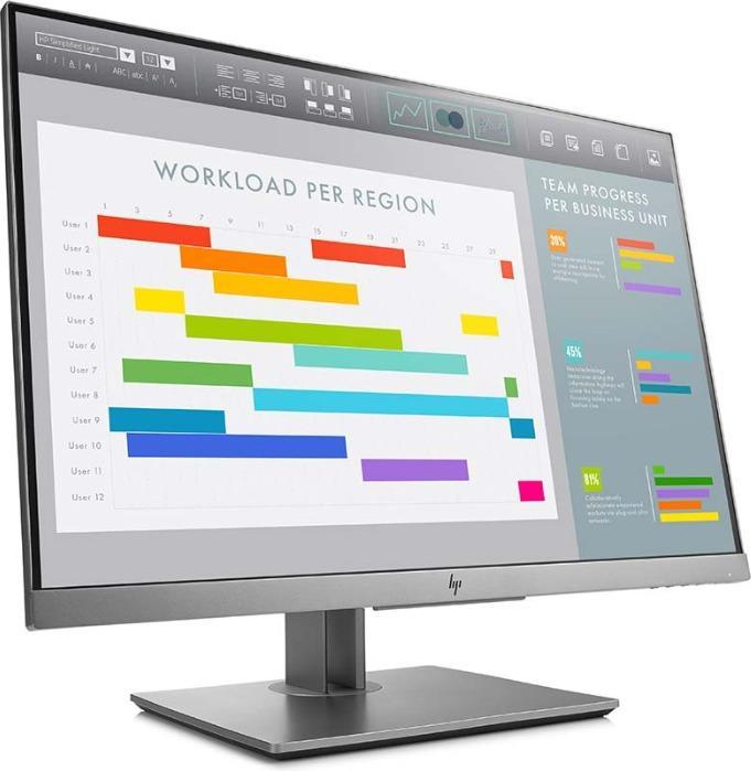 Monitors from HP - HP Monitor 1FH49AA#ABB E243i siyah