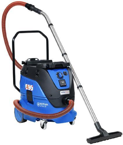 NILFISK ATTIX 33 - Aspirateurs eau et poussière monophasés - Aspirateur eau et poussière supérieur et puissant