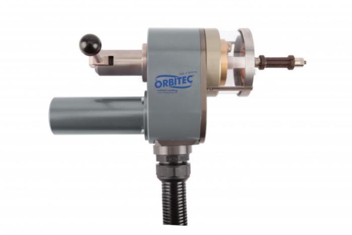 Tube-to-tube-sheet weld head RBK 38 S - Tube-to-tube-sheet weld head RBK 38 S for orbital welding - Orbitec