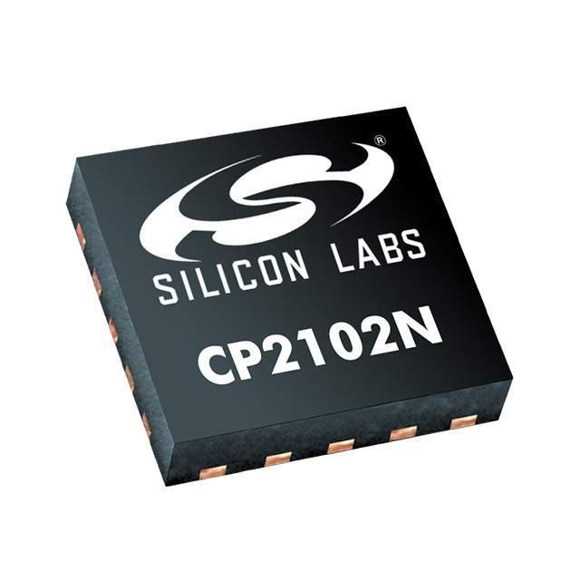 IC BRIDGE USB TO UART 20QFN - Silicon Labs CP2102N-A01-GQFN20