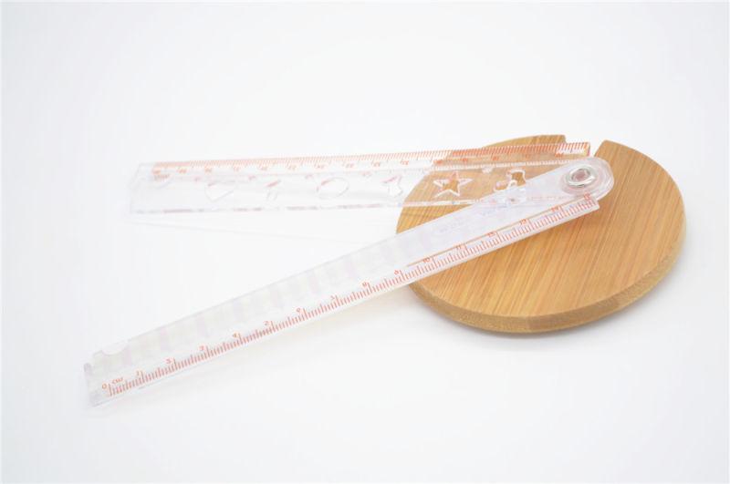 Folding  Ruler - Cartoon Colorful Folding Student Plastic Ruler